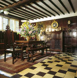 A view across the Hall showing the C17th