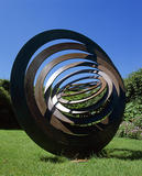 Hypercone by Simon Thomas of Bristol, a sculpture at Antony, in the Summer Garden