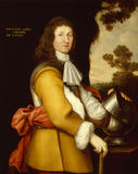 "PORTRAIT OF RICHARD LEGH (1634 - 1687) by ""J.H."" at Lyme Park"