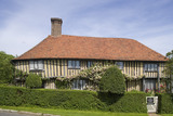 The early sixteenth-century half-timbered house, Smallhythe Place, the home of actress Ellen Terry from 1899 to 1928 at  Tenterden, Kent
