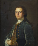 PORTRAIT OF SIR THOMAS HESKETH, 1st Bt, by Pickering at Rufford Old Hall, photographed at correct exposure for painting