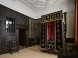 The Mary, Queen of Scots' Room at Hardwick Hall, Derbyshire