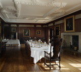 The Dining Room at Castle Drogo, Devon