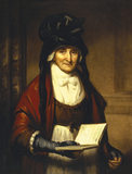 MRS GARNETT, HOUSEKEEPER by Thomas Barber (c.1768-1843)