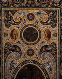 Detail of the top of the pietra dura table in the Great Hall