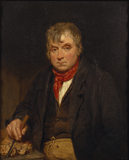 JONATHAN RITSON (c1780-1846) by George Clint (1770-1854) from Petworth House