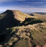 View looking east from summit of Corndu towards Pen Y Fan