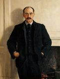 `RUDYARD KIPLING ' by John Collier (1850-1934),  in 1900