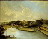 CLIVEDEN FROM THE THAMES attributed to William Tomkins (1730-92) at Cliveden