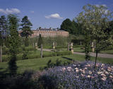 The East Front of Erddig viewed across the gardens from the South East