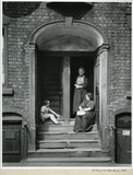 Figures in Doorway, Vernon Street