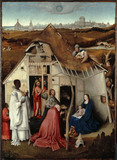 ADORATION OF THE MAGI by Hieronymus Bosch (1450-1516)