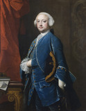 THOMAS HUNT III (1721-1788) by Thomas Hudson, at Lanhydrock, Cornwall
