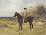 PORTRAIT OF MASTER THOMAS FERMOR-HESKETH ON HIS PONY  by Lucas-Lucas at  Rufford Old Hall