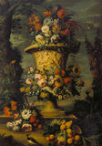 STILL LIFE OF FRUIT AND BIRDS by Belin de Fontenay(1653-1715)