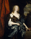 CATHERINE BRUCE, MRS MURRAY, LATER COUNTESS OF DYSART(d.1649) by Sir Anthony van Dyck (1599-1641)