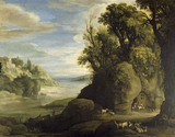 A LANDSCAPE by Paul Brill(1554-1626)