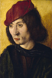 HEAD OF A YOUNG MAN Master of the Bartholomew Altarpiece(attrib) (late C15th - early C16th)