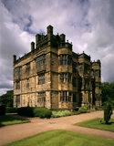 A view of the West Front of Gawthorpe Hall, Lancashire