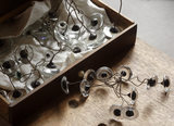 Glass eyes and tools for their manufacture in the 1870s house at the Birmingham Back to Backs