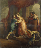 ANGELICA AND MEDORO by Zucchi, 18th century
