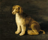 Painting of a shaggy Dog at Anglesey Abbey