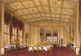 THE STATE DINING ROOM AT WINDSOR (ALSO CALLED THE TUDOR DINING ROOM)