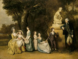 THE MATTHEW FAMILY AT FELIX HALL by Johann Zoffany