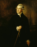 PHILIP YORKE I (1743-1804) by Thomas Gainsborough, probably in the late 1770's