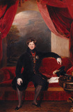 Portrait of GEORGE IV by Sir Thomas Lawrence (1769-1830)