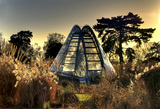 The futuristic Alpine House
