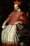 `CARDINAL DE' BONIS (1544-1621)' from the Studio of Domenichino, in the Picture Gallery at Attingham Park