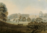 The View of the West front of Erddig from the park, by Moses Griffiths
