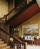 The imposing Cedar Staircase, designed by William Talman in 1698 and completed after 1702