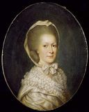 `MRS. MARY BOOTH, WIFE OF 4th. EARL OF STAMFORD' by an unknown English artist, circa 1765.