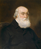 WALTER McGEOUGH BOND, the builder of The Argory; a portrait in The Study, by Sir Francis Grant