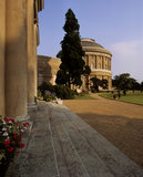 The Rotunda of Ickworth from the steps in front of the Orangery