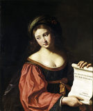THE SYBIL HELLESPONTICA, attr Giovanni Francesco Barbieri, called II Guercino and Studio