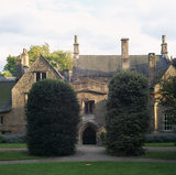 A view of the North Front of Clevedon Court