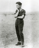 T.E. Lawrence (1888-1935) at Miranshah, 1928.