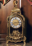 Boulle clock in the Hall, Antony House, Cornwall, home of the Carew family for almost 600 years