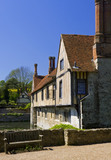 The South Range at Ightham Mote, Sevenoaks, Kent, a fourteenth-century moated manor house