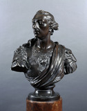 A bronze cast of the bust of Wolfe by Joseph Wilton (1722-1803)