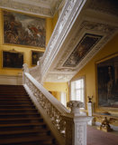 View from the ground floor up the Grand Staircase at Sudbury Hall