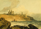 DUNSTANBURGH CASTLE by J.M.W.Turner.