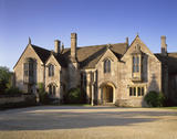 The North front of Great Chalfield Manor, near Melksham, Wiltshire