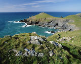 View from Pentire head, North Cornwall