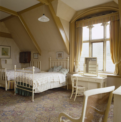 View of part of the night nursery on the second floor of Tyntesfield