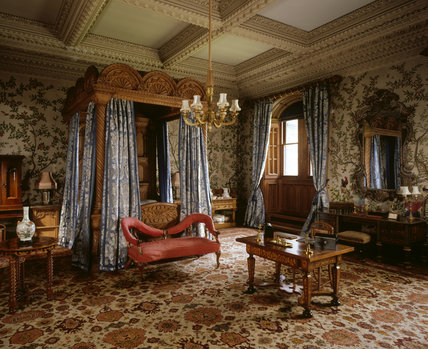 Captivating The State Bedroom At Penrhyn Castle