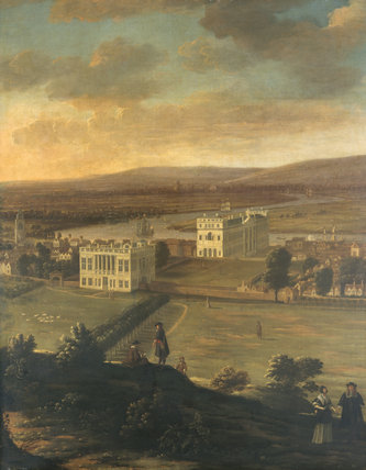 A VIEW OF GREENWICH, by Hendrick Dankerts, (c.1625-1679)